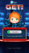 Marvel Tsum Tsum Crystal