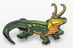Alligator Loki Pin