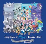 Disneyland Diamond Characters