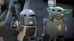 Mando and the Child - The LEGO Star Wars Holiday Special