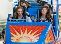 California Screamin Blue Coaster