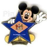 Delaware Flag Pin