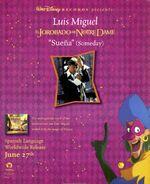 Jorobado Notre Dame spanish soundtrack trade print ad BB-1996-06-29