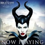 Maleficent Now Playing Poster