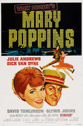 Mary Poppins 1964 poster