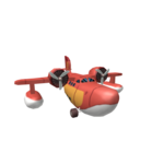 Scrooge McDuck's Sun Chaser Plane (Roblox item)
