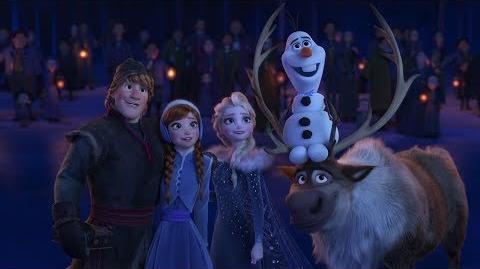 """""""حين نبقى معاً"""" - مغامرة أولاف الثلجية"""