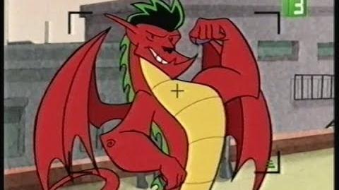 إعلان MBC3 - جاك التنين الخارق American Dragon Jake Long (Arabic) TV Spot