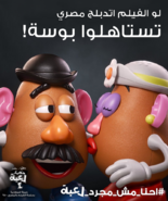 Mr & Mrs Potato Head Portrait