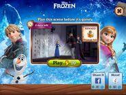 Frozen Hands Splash Page