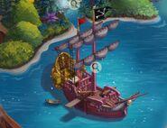 Hook's Ship (Peter Pan) (Level 3)