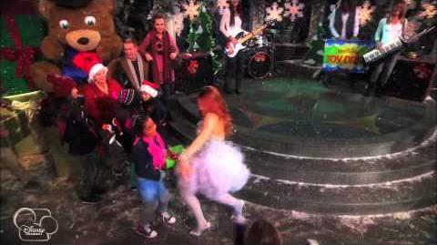 Good Luck Jessie Favourite Time of Year Song Official Disney Channel UK