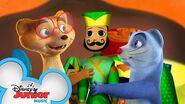 The Puppet Trail Music Video Mira, Royal Detective Disney Junior