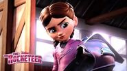 Sneak Peek! 🚀 - Comic-Con 2019 - The Rocketeer - Disney Junior