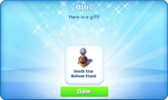 Bc-death star balloon stand-gift
