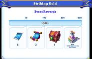 Me-striking gold-105-milestones