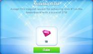 Me-striking gold-40-prize