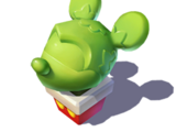 Mickey Ears Topiary