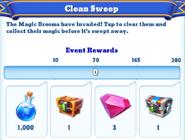 Me-clean sweep-5-milestones