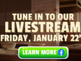Update 47 Livestream Sweepstakes 2021
