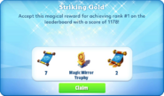 Me-striking gold-82-prize