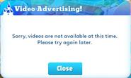 Popup-video advertising