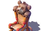 Teddy Bear Throne