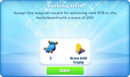 Me-striking gold-89-prize