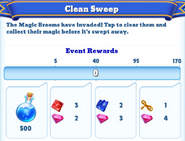 Me-clean sweep-7-milestones