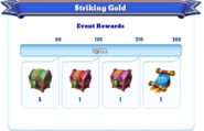 Me-striking gold-94-milestones