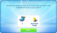 Me-striking gold-99-prize