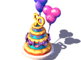 WDW 50th-Anniversary Cake