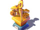 Elastigirl Statue