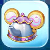 Mrs. Potts Ears Hat Token