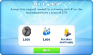 Me-striking gold-97-prize