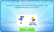 Me-striking gold-96-prize