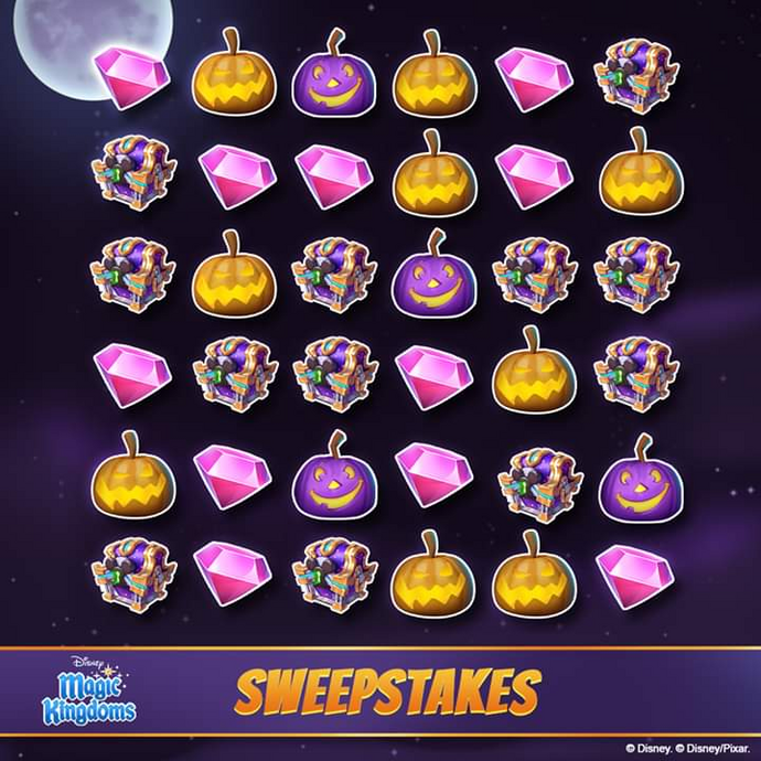 Not-So-Scary Sweepstakes 2019