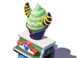 Maleficent Waffle Cone Stand