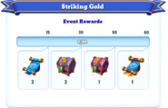 Me-striking gold-91-milestones