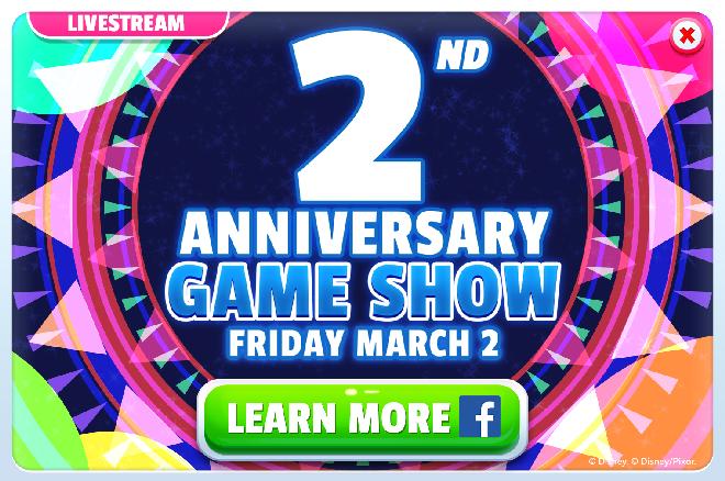 2nd Anniversary Game Show
