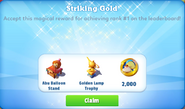 Me-striking gold-29-prize