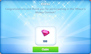 Where is mickey sweepstakes-gift