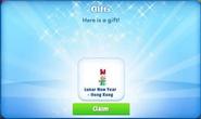 Cp-daisy duck-lunar new year-hong kong-promo-gift