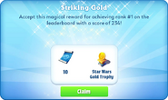 Me-striking gold-95-prize