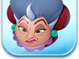Lady Tremaine Ears Hat Token