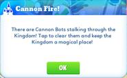 Me-cannon fire