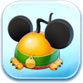 Pluto Ears Hat Token