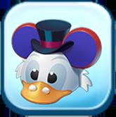 Scrooge McDuck Ears Hat Token