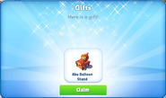 Bc-abu balloon stand-gift