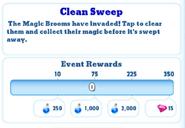 Me-clean sweep-1-milestones